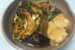 チヌ (黒鯛)の煮付け・あら炊き