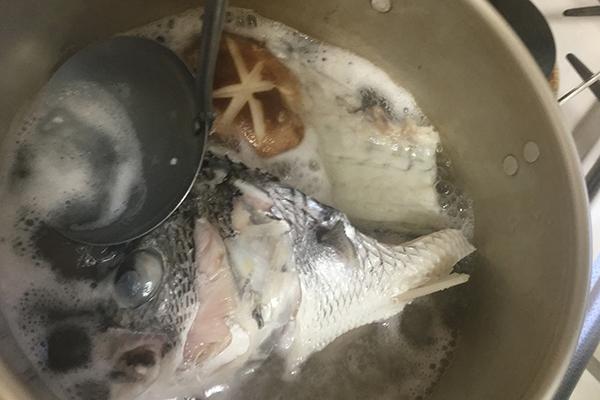チヌ(クロダイ)料理煮付け