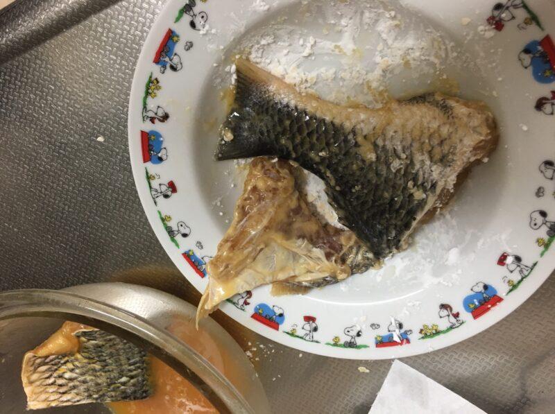 チヌ(クロダイ)料理唐揚げ