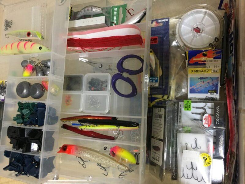シーバス釣り・道具