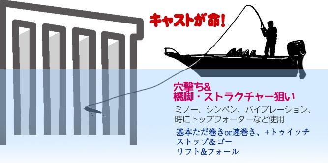 ボートシーバス釣り方