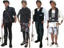 シーバス釣り服装