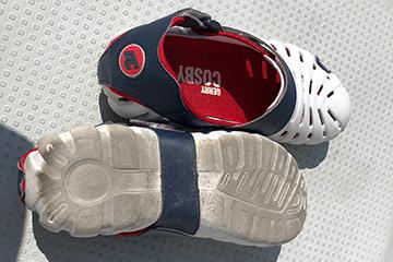 デッキシューズの靴底|フィッシング ファッション