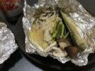 チヌ (黒鯛)のホイル蒸し焼き・レシピ