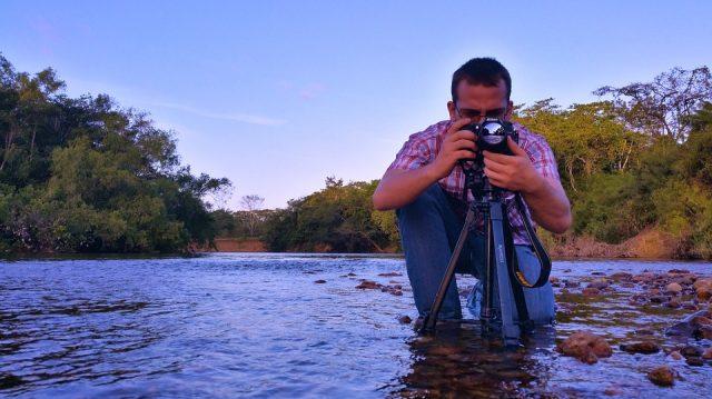 釣果写真の撮り方と背景
