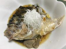 チヌ (黒鯛)の広東風中華蒸し