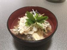 チヌ (黒鯛)の吸い物・あら汁レシピ