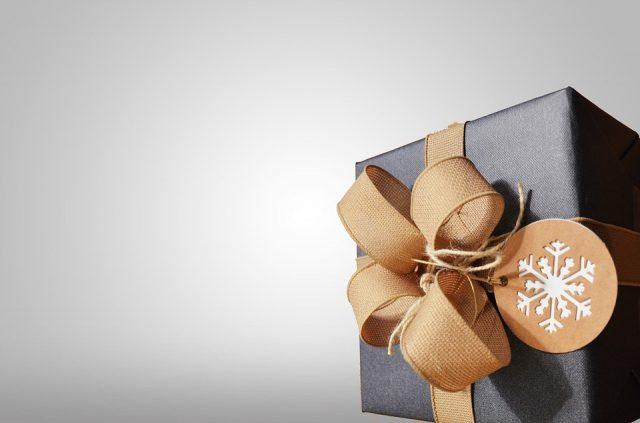 釣り好きにプレゼントするクリスマスの包装