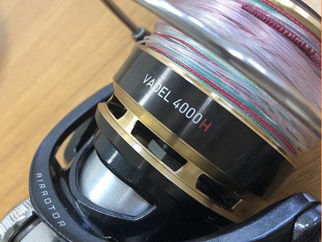 ダイワヴァデル3500hのリール画像
