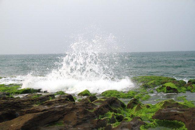 夏のアジング酸素が多いポイント画像