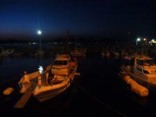 アジングポイント港常夜灯画像
