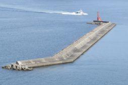 アジングポイント沖堤防画像