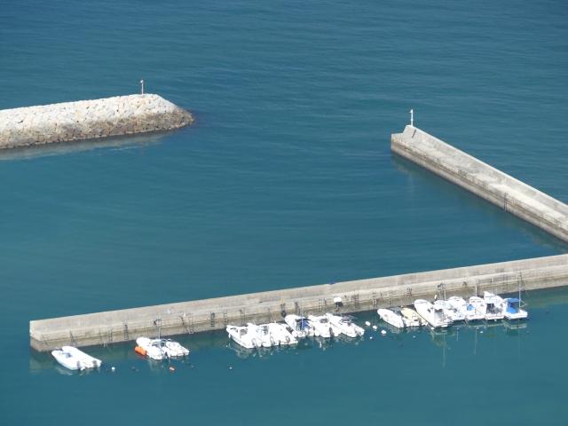 アジングポイント堤防画像