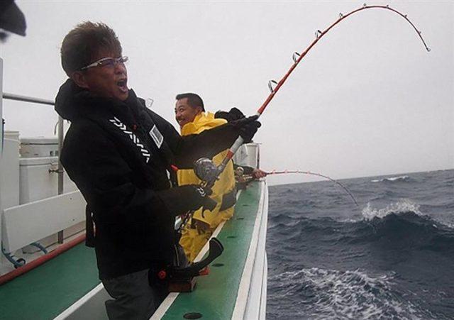 釣り好き芸能人画像