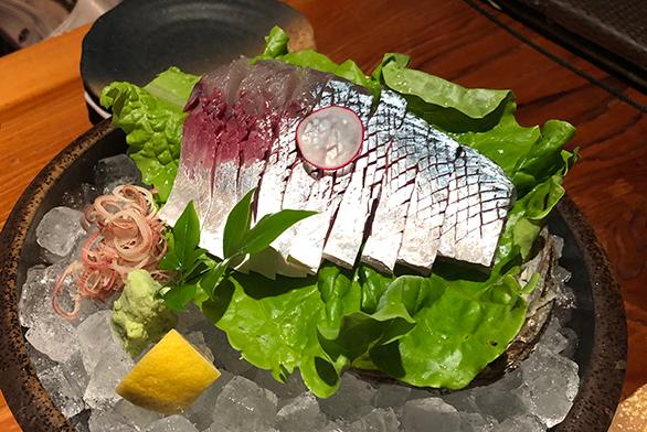 サバの刺身|刺身で食べて美味しい釣り魚