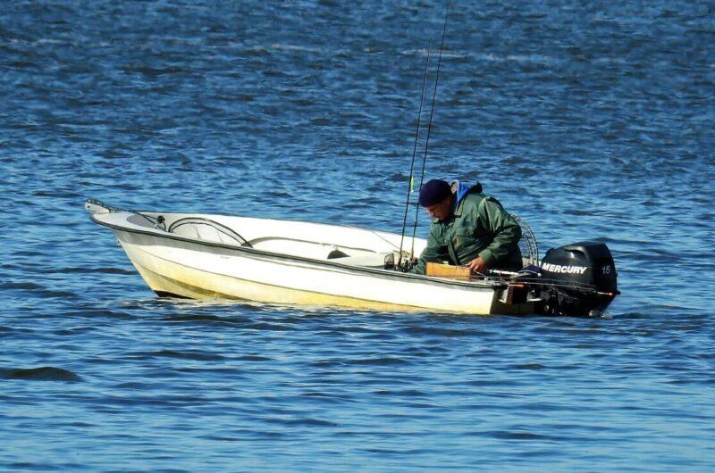 ミニボート釣り