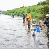 福島原発事故から11年ぶりにアユ釣り解禁!福島県木戸川