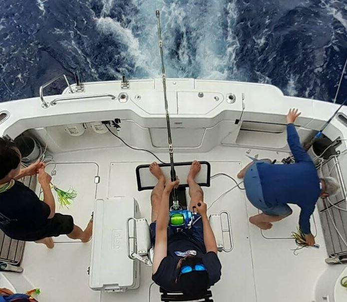 カジキ釣り艤装