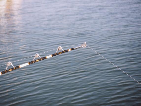 カジキ釣りロッド