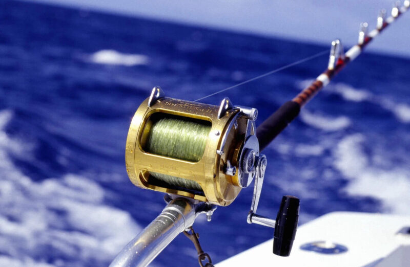 カジキ釣りリール