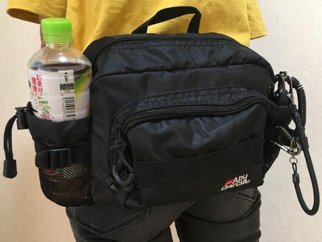 ウエストバッグ|シーバス釣り服装