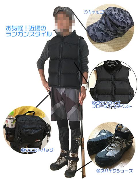 ランガンスタイル|シーバス服装